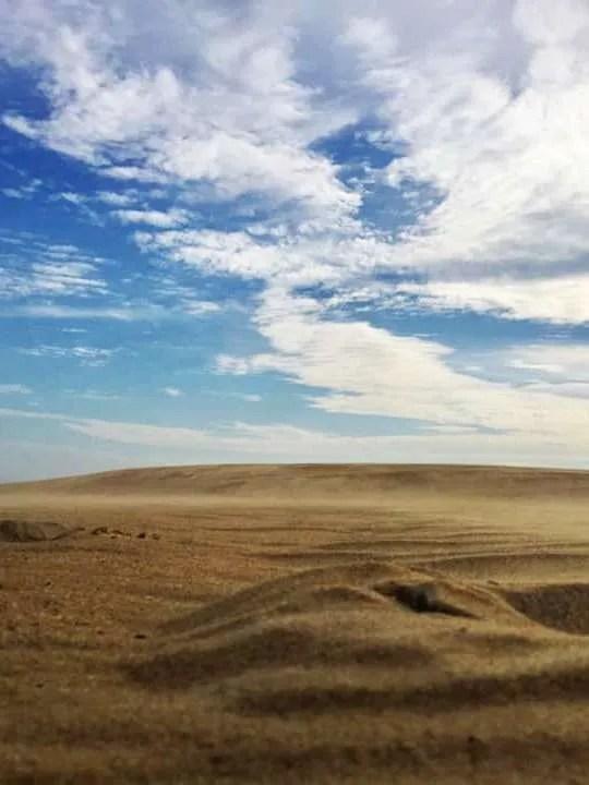 The dunes at Jockey's Ridge State Park.
