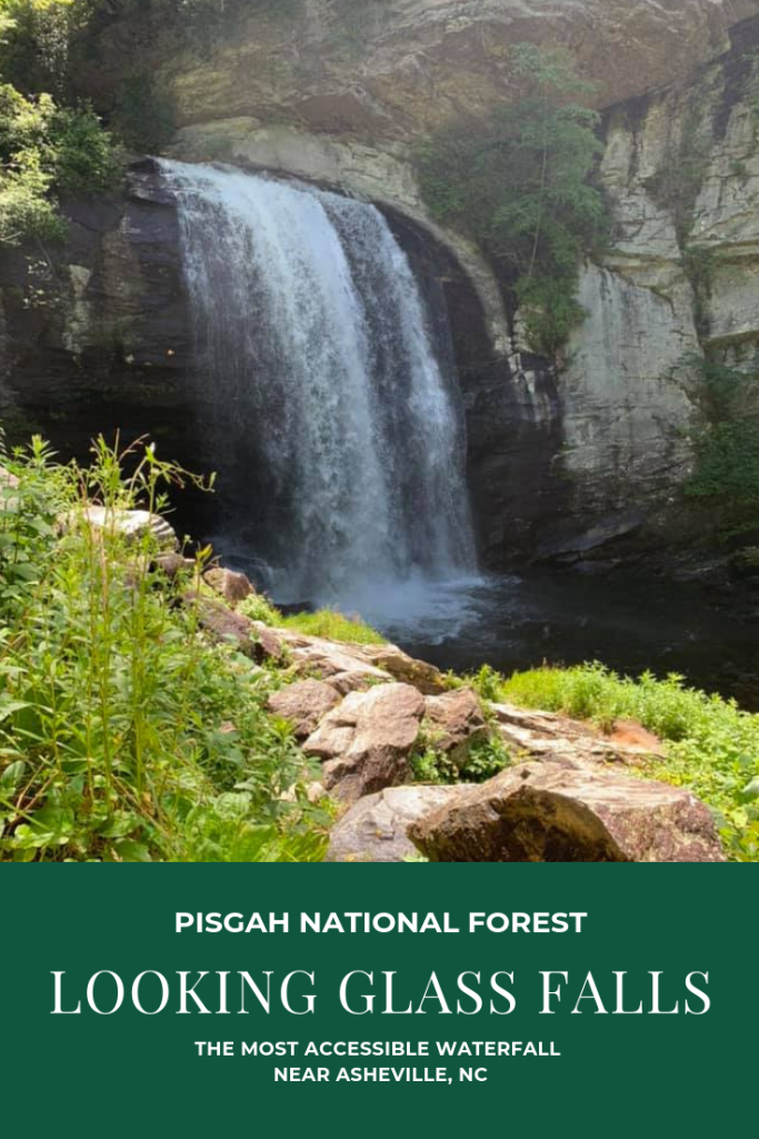 Looking Glass Falls: The Most Accessible Waterfall in NC   Finding Mandee