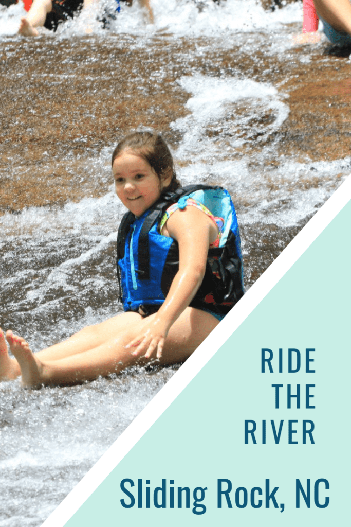 Ride the River at Sliding Rock, NC | Finding Mandee