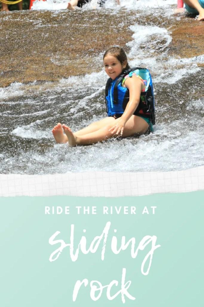 Ride the River at Sliding Rock, North Carolina | Finding Mandee