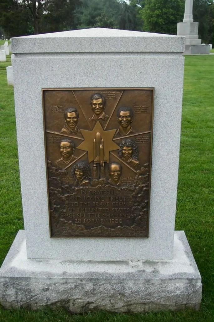 the Challenger Memorial