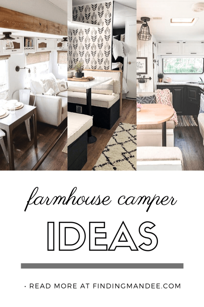 Farmhouse Camper Ideas | Finding Mandee