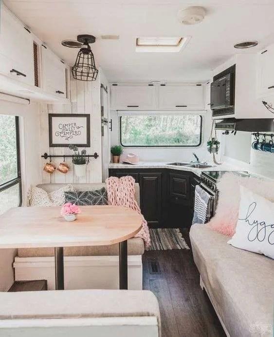 Farmhouse Camper Interior Ideas