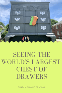 Seeing the World's Largest Chest of Drawers | Finding Mandee