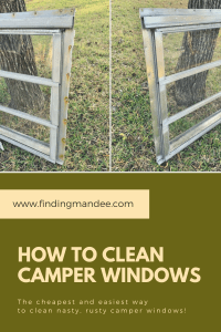 How to Clean Camper Windows the Cheap and Easy Way   Finding Mandee