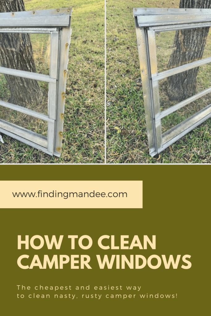 How to Clean Camper Windows the Cheap and Easy Way | Finding Mandee