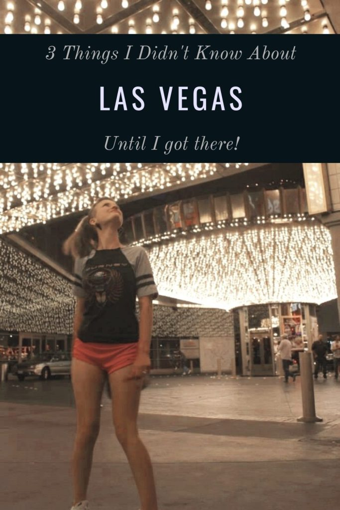 3 Things I Didn't Know About Las Vegas Before I Got There | Finding Mandee