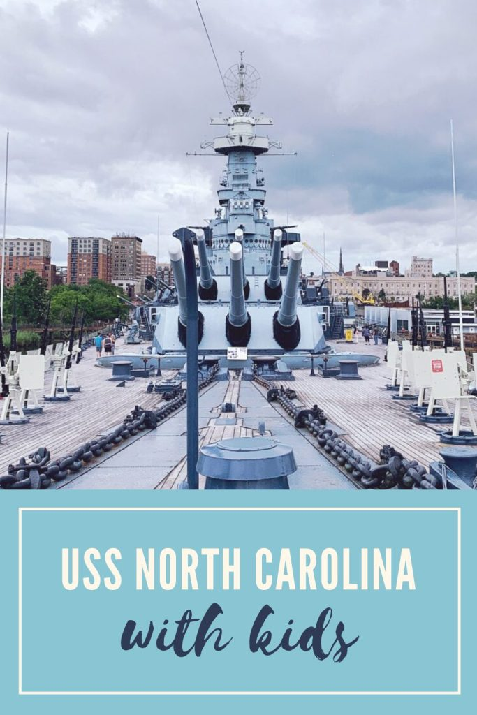 Seeing the USS North Carolina with Kids | Finding Mandee