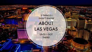 3 Things I Didn't Know About Vegas Until I Got There | Finding Mandee
