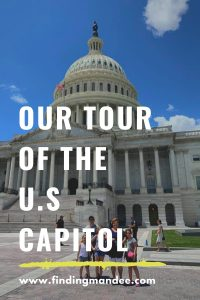 Our Tour of the U.S Capitol | Finding Mandee