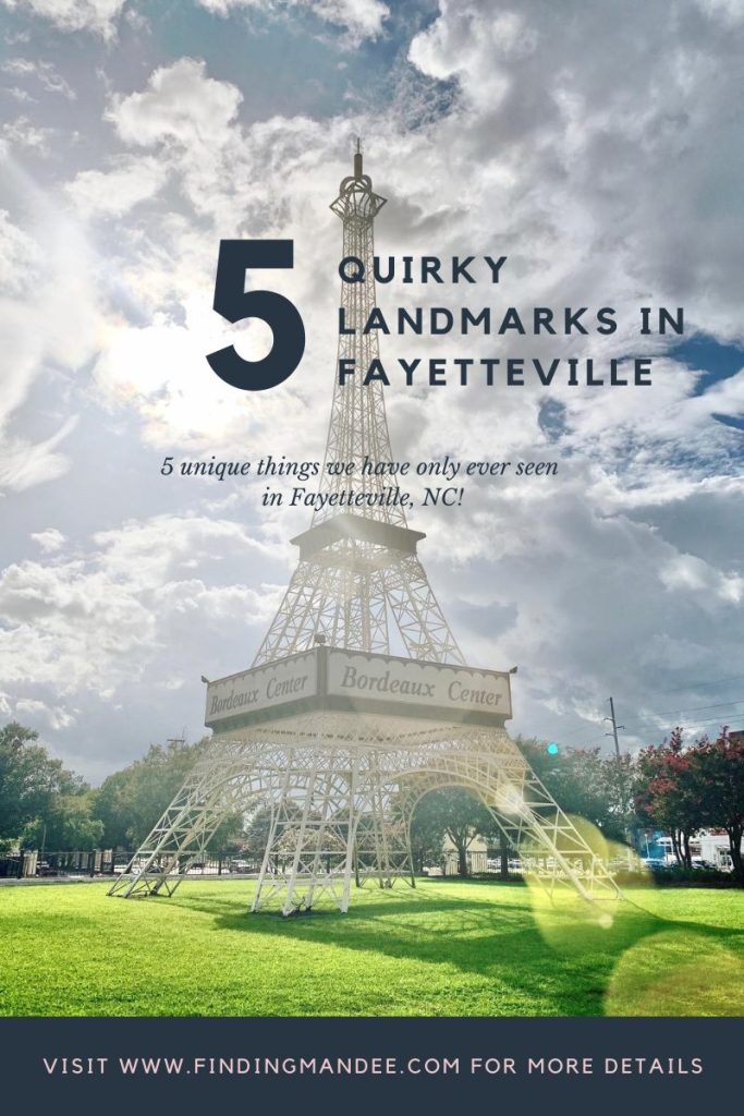 5 Quirky Landmarks in Fayetteville, NC | Finding Mandee