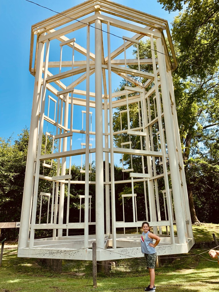 The Ghost Tower is another quirky thing to look for in Fayetteville.