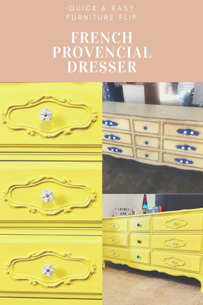 Flipping a French Provincial Dresser | Finding Mandee