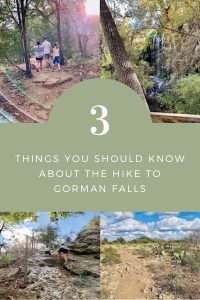 Hiking to Gorman Falls at Colorado Bend State Park in Texas | Finding Mandee