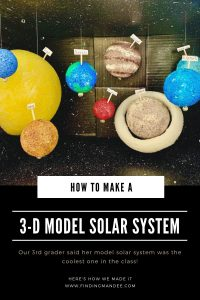 How to Make a 3-D Solar System | Finding Mandee