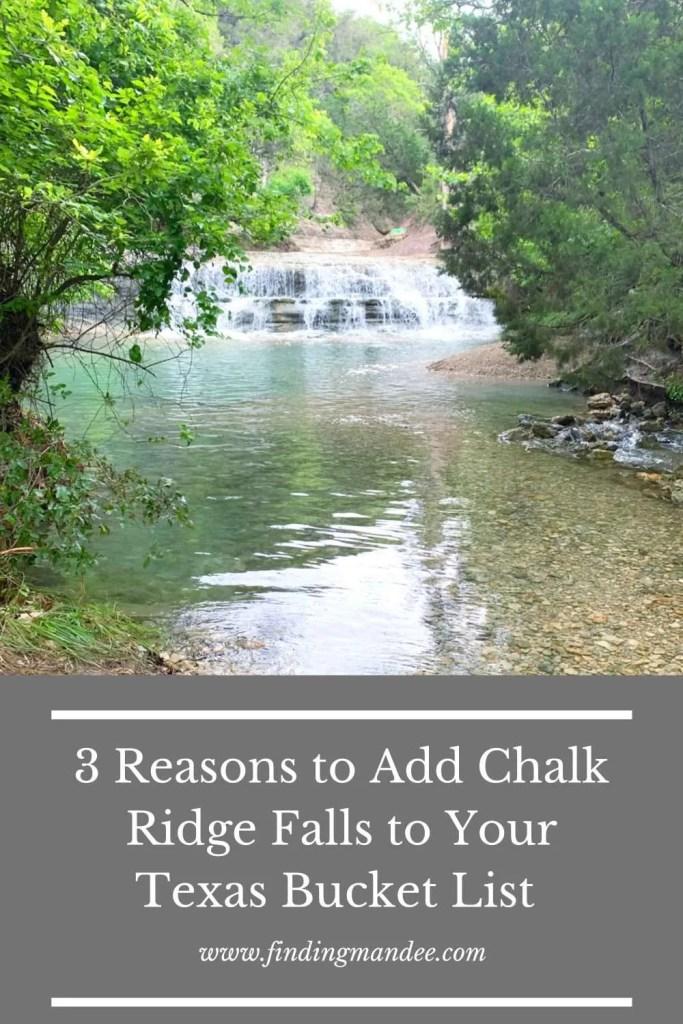 3 Reasons to Add Chalk Ridge Falls to Your Texas Bucket List | Finding Mandee