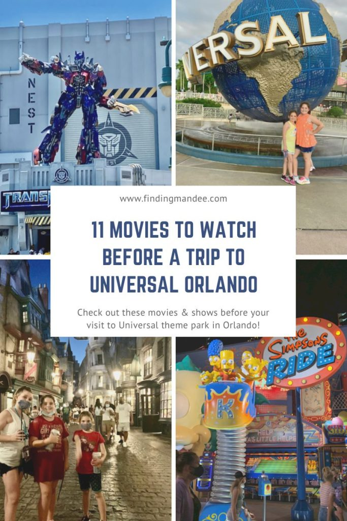 11 Movies to Watch Before a Trip to Universal in Orlando | Finding Mandee