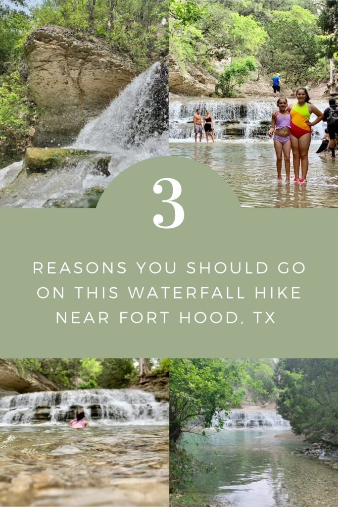 3 Reasons You Should Go On This Waterfall Hike Near Fort Hood, TX | Finding Mandee
