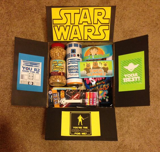Father's Day care package ideas: Star Wars themed