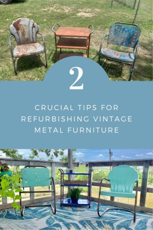2 Crucial Tips for Refurbishing Vintage Metal Chairs | Finding Mandee