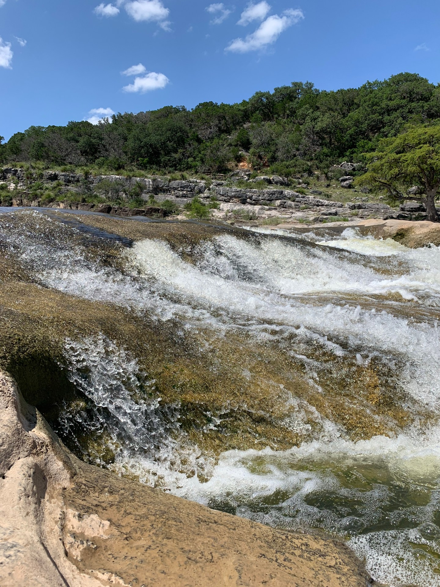 Pedernales Falls is one of the most popular waterfalls in Texas.