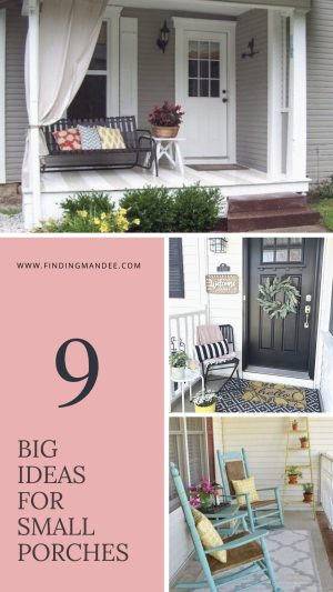 9 Big Ideas for Small Porches   Finding Mandee