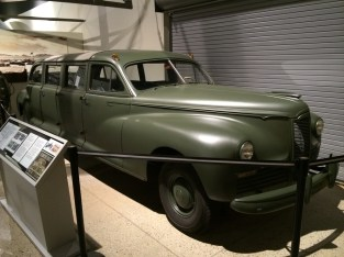 1942 Packard Custom Limo used to transport to/from Los Alamos