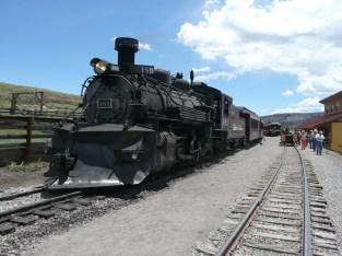 'My' train in Osier