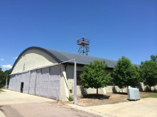 Old city hangar