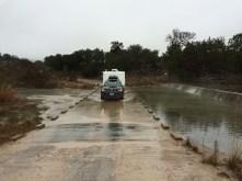 Departing thru the river