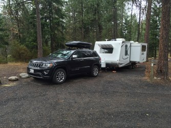 Our $40 a night dry camping site