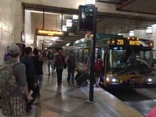 Metro station at Westlake