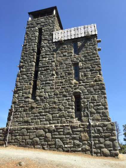 Mount Constitution observation tower