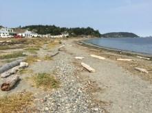 Campground beach