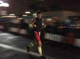 Jeff finishing (thank you low light!)