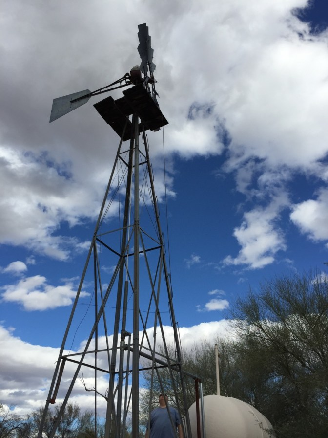 Water pump in the middle of nowhere in KOFA