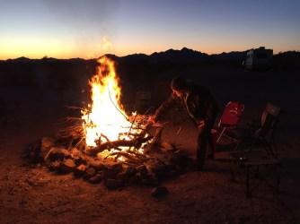 Fire on the last night