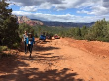 Jeeps on the Jeep trail