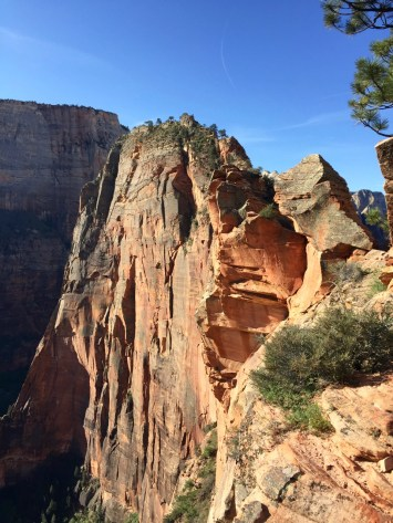 All the way out there is Angel's Landing.