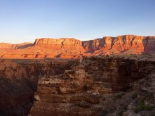West up Badger Canyon to Vermillion Cliffs.