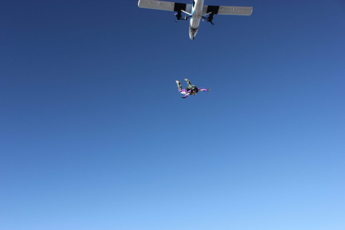 Krisztina Holly Skydiving