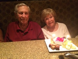 Grandma and Grandpa 67th Anniversary