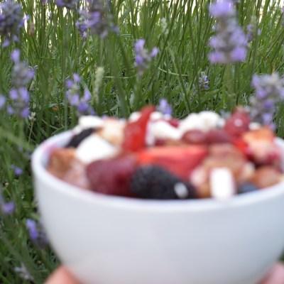 berry breakfast salad