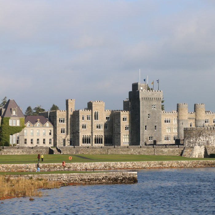Staying in Historical Places: Ashford Castle