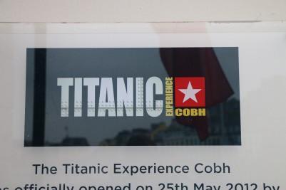 Titanic Experience Cobh Sign