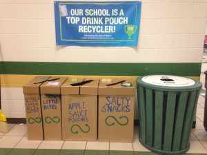 TerraCycle Collection Station at Our School