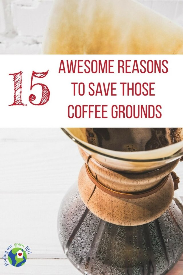Don't throw away the coffee grounds. Click through to read about 15 awesome uses for coffee grounds.
