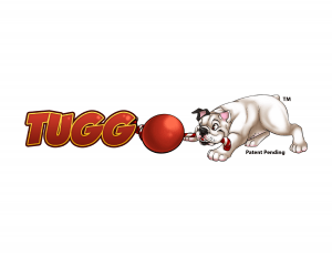 Tuggo logo with patent pend and TM