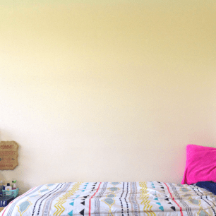 A big, blank wall