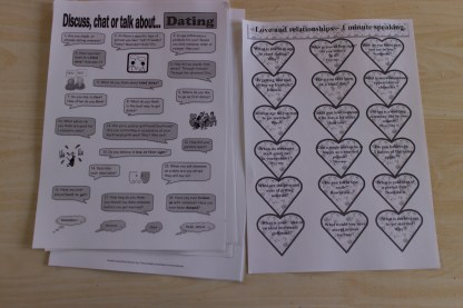 Interesting worksheets about dating.